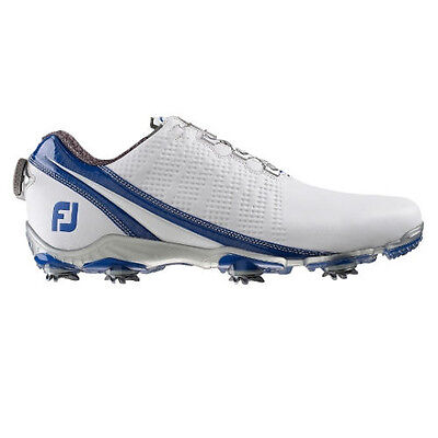 Footjoy Mens DNA Golf Shoes with BOA 53394 - White / Blue - 2016 Model