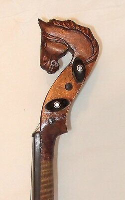 Beautiful Horse head 4/4 violin by Louis Lowendall Berlin lovely tone in VGC