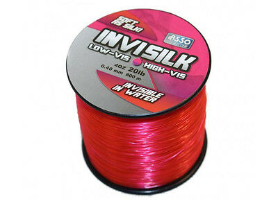 Asso NEW Invisilk High Vis out of water Low Vis in Water Fishing Line soft 600 m