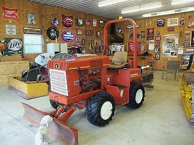 Ditch Witch 3500 Duetz Diesel Trencher with full blade