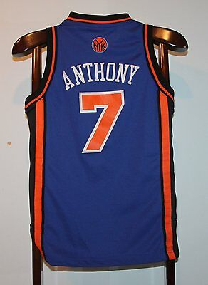 Maillot Trikot Jersey Nba Basketball Carmelo Anthony New York Knicks 10 ans