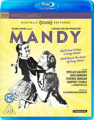 Mandy DVD (2017) Phyllis Calvert ***NEW***