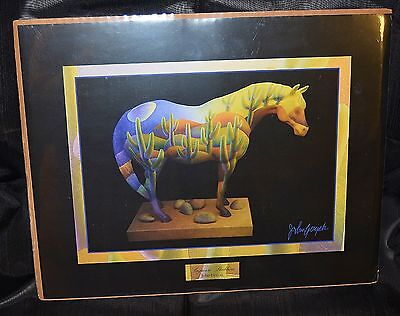 "Trail of the Painted Ponies SAGUARO STALLION  ""Framable Art Print""  By Westland"