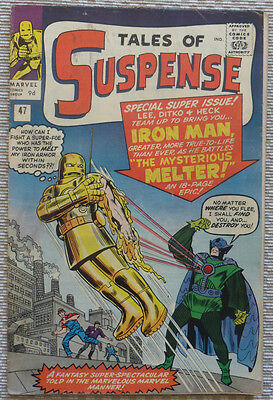 TALES OF SUSPENSE 47, IRON MAN & 1st MELTER (Silver Age Comic)