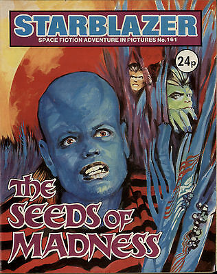 The Seeds Of Madness,starblazer Space Fiction Adventure In Pictures,no.161