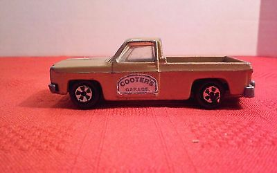 Vintage Ertl Duke Of Hazzard Cooter's Garage Chevrolet Fleetside Pick Up Truck