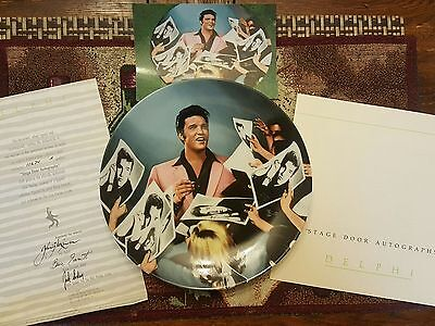 Elvis Presley collectible plates from Delphi