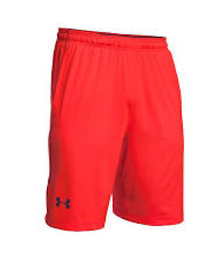 Under Armour Men's Micro Solid Shorts w/ Pockets, Red, Medium (1236423)
