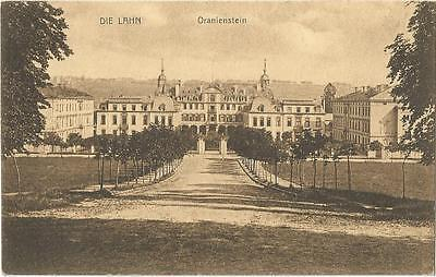Oranienstein Castle Lahn Germany During French Occupation Postcard