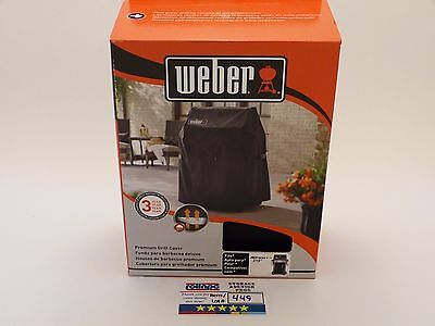 R449 Weber Grill Cover w/ Storage Bag 7105 Fits Spirit 210 Gas Grills NEW