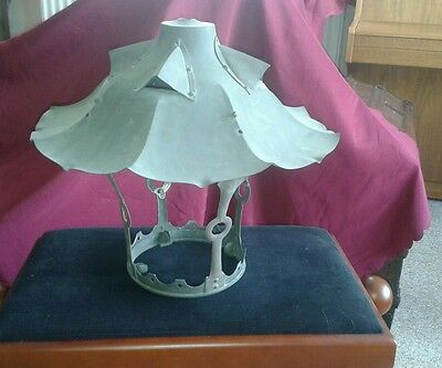 HUGE Antique Arts and Crafts Lantern STUNNING