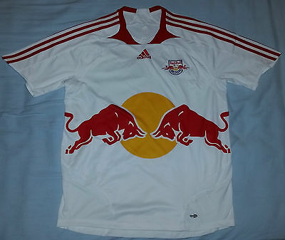 Red Bull Salzburg Player Issue Adidas football Shirt Jersey Trikot (L) 2007-08
