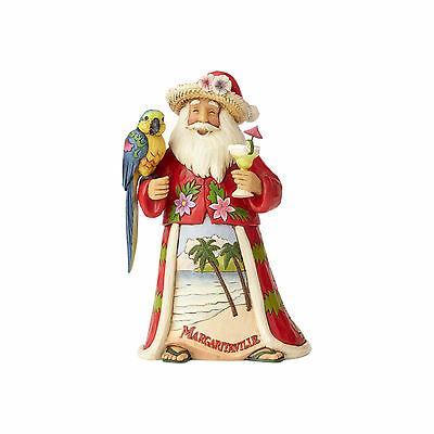 Jim Shore Margaritaville Santa Jimmy Buffett New 2017 4059121