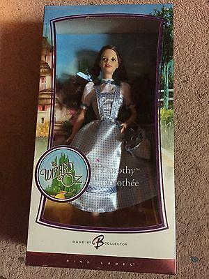 Dorothy Wizard of Oz Barbie Doll Pink Label New