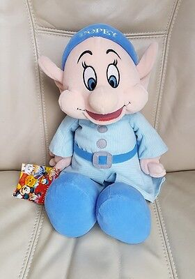 Disney Store Exclusive Snow White & The Seven Dwarfs Dwarves - Dopey Soft Toy