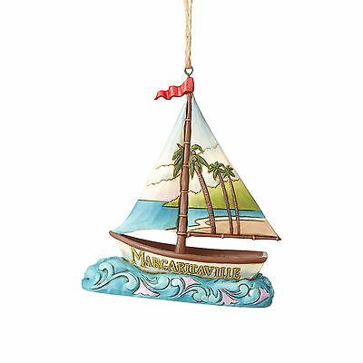 Jim Shore Margaritaville Sailboat Ornament Jimmy Buffett New 2017 4059128