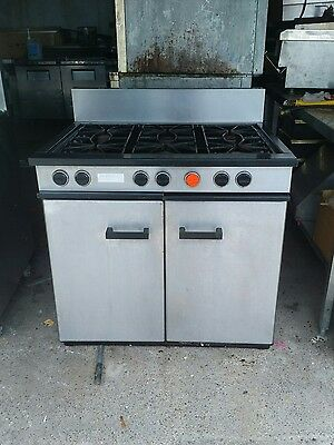 Lpg 6 ring burner cooker and oven