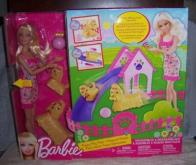 Mattel Barbie Puppy Play Park PlaySet - NEW IN PACKAGE