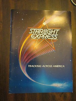 Starlight Express Tracking Across America on Tour Show Program 1989