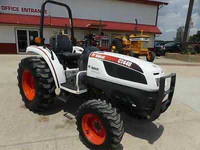 Bobcat Ct440 Mfwd Compact Tractor For Sale 964 Hours One Owner Hydro Trans