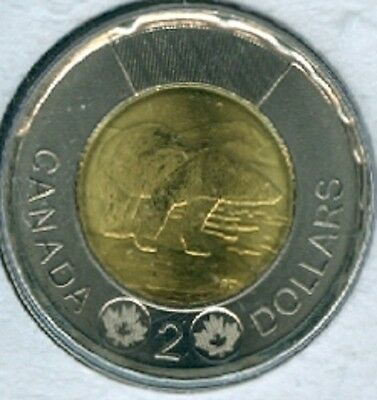 2017 Twoonie Toonie $2 Two Dollar '17 Canada-Canadian BU Coin UNC RCM - Mark