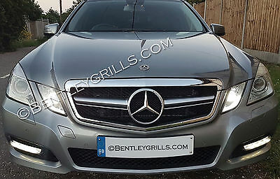 Mercedes W212 S212 E Class 2009-2013 Chrome AMG LOOK Complete Front Grille