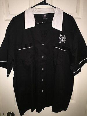 Sailor Jerry Rum Bowling Shirt XL