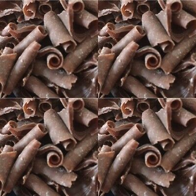 25g Milk Chocolate Curls Sprinkles Inclusions Cake Decorations Cupcake Topping