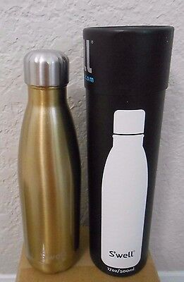 S'well Vacuum Insulated Stainless Steel Water Bottle, 17 oz Sparkling champagne