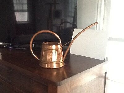 Copper Watering Can ,Collectibles,Brass,Antiques,Kustom,Steampunk,Garden,Plants