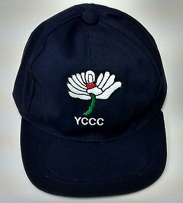 Yorkshire CCC Navy Blue Baseball Style Cricket Cap,Junior Size Age 6-12 @ £8.95p