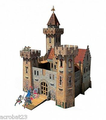 Building KNIGHT'S CASTLE War Games Terrain Landscape Scenery Middle Ages 25-28mm