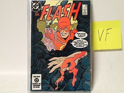 The FLASH #336 DC Comics 1984 VF The Fastest Man Alive! Murder on the Rocks