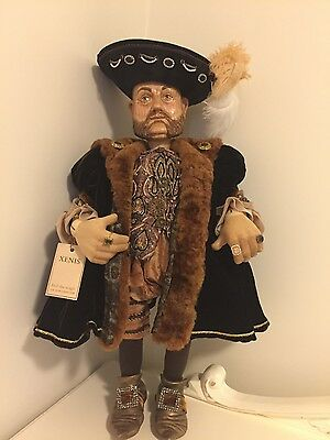 Xenis Henry Viii wooden doll by Xenis