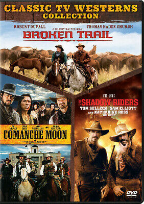 Broken Trail/Comanche Moon/The Shadow Riders [New DVD] Boxed Set, Full Frame,