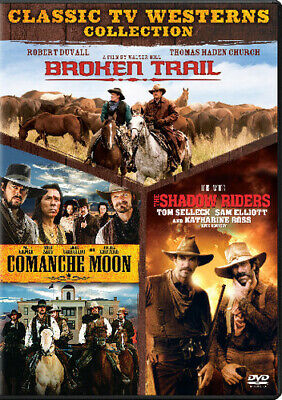 Broken Trail / Comanche Moon / The Shadow Riders [New DVD] Boxed Set, Full Fra