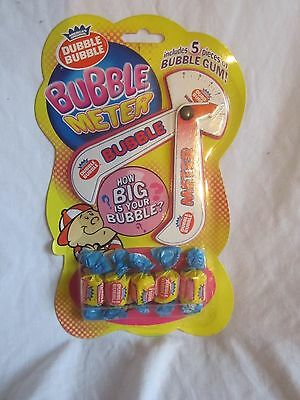 rare, vintage Dubble Bubble Bubble Meter--new and sealed (BH)