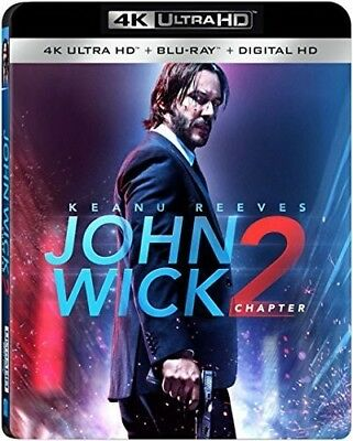 John Wick: Chapter 2 [New 4K UHD Blu-ray] With Blu-Ray, 4K Mastering, Digitall