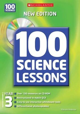 100 Science Lessons for Year 3 with ... by Anderson, Malcolm Mixed media product