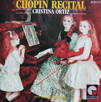 Cristina Ortiz - Chopin: Recital - Cristina Ortiz CD 72VG The Cheap Fast Free