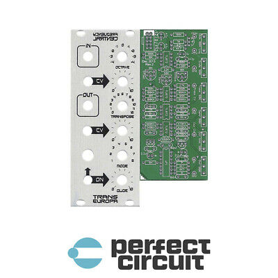 Frequency Central Trans Europa PCB + Panel EURORACK - DIY - PERFECT CIRCUIT