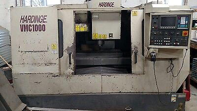 1998 VMC1000 CNC Mill with Chip conveyor and 4th axis capable