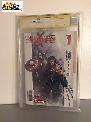 CGC Signature SERIES: Ultimate War #1 - Signed by Mark Millar