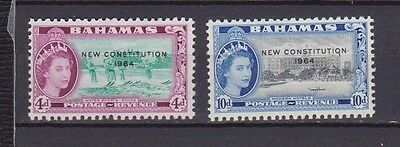 s16755) BAHAMAS  MNH** Nuovi** 1964 4d + 10d New Constitution  2v