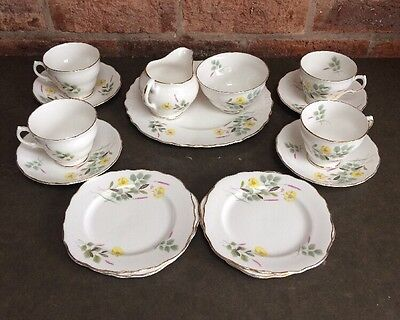 ROYAL VALE Bone China Tea Set