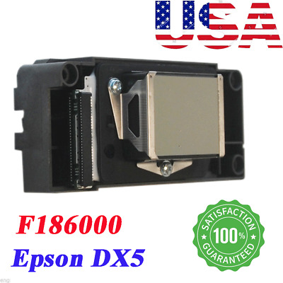 USA Stock! Universal Epson DX5 Printhead for Chinese Printers- F186000 Unlocked!