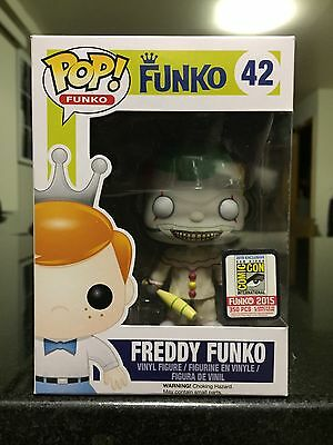 Funko Fundays Sdcc 2015 Freddy Funko Twisty The Clown American Horror Story