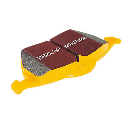 EBC Yellowstuff Rear Brake Pads For Audi A6 Quattro 2.7 TDI 04>2011 - DP41518R