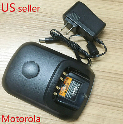 Universal Charger for Motorola Mototrbo Radio XPR6100 XPR6350 XPR6380 XPR6550