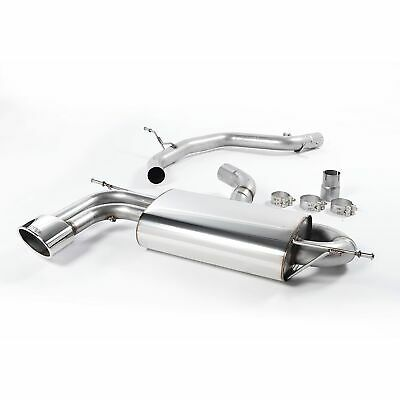 Milltek Sports Non Resonated Louder Cat Back Stainless Exhaust System - SSXSE119